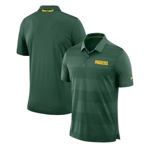 Mens Green Bay Packers Sideine Performance Polo
